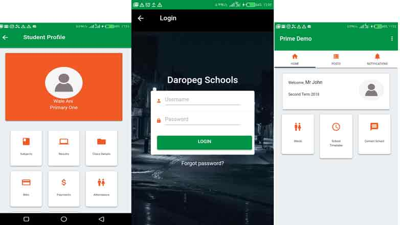 Mobile App For Prime Edusoft